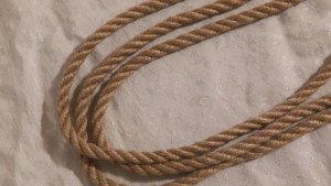 Knot Knormal 6mm double-ply Jute with a tight lay