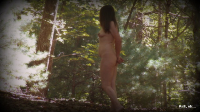 nude in nature naked nature photo