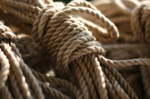 Knot Knormal double-ply rope