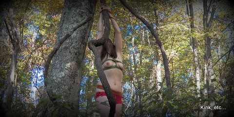 Evil Dead - rope bondage #WickedWednesday